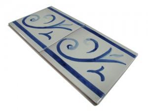 SV2113 Azulejo pincelado 15x15 cm.