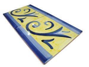 SV2118 Azulejo pincelado 15x15 cm.