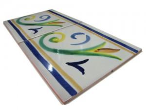 SV2119 Azulejo pincelado 15x15 cm.