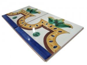 SV2121 Azulejo pincelado 15x15 cm.