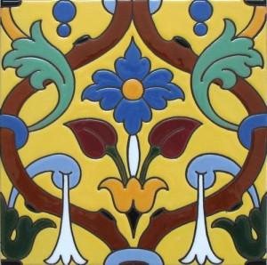 Azulejo mural colores