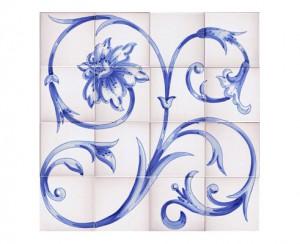 SV9023 Mural de azulejos 60x60 cm.