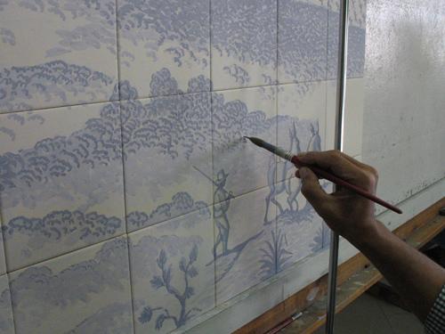 Pintando a mano