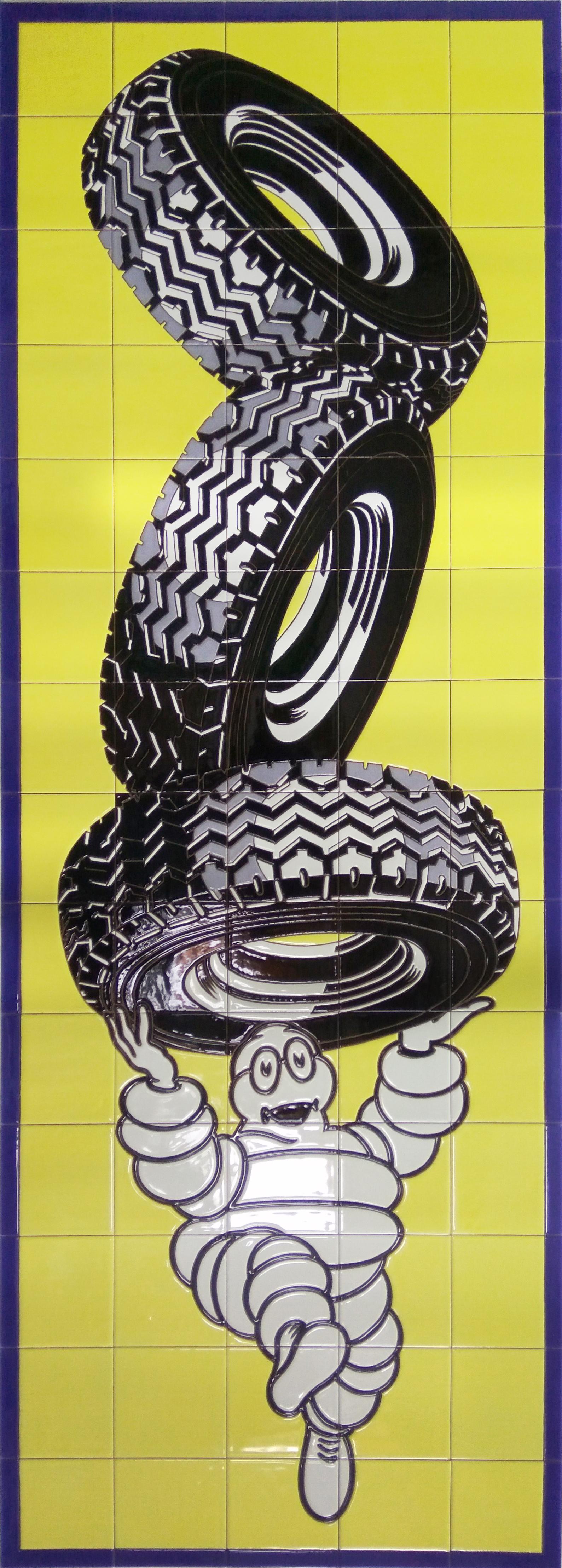 Rótulo neumáticos Michelin