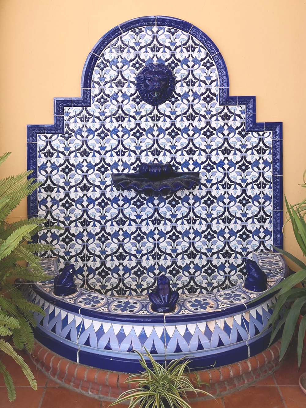 Fuente decorativa FT4N azul