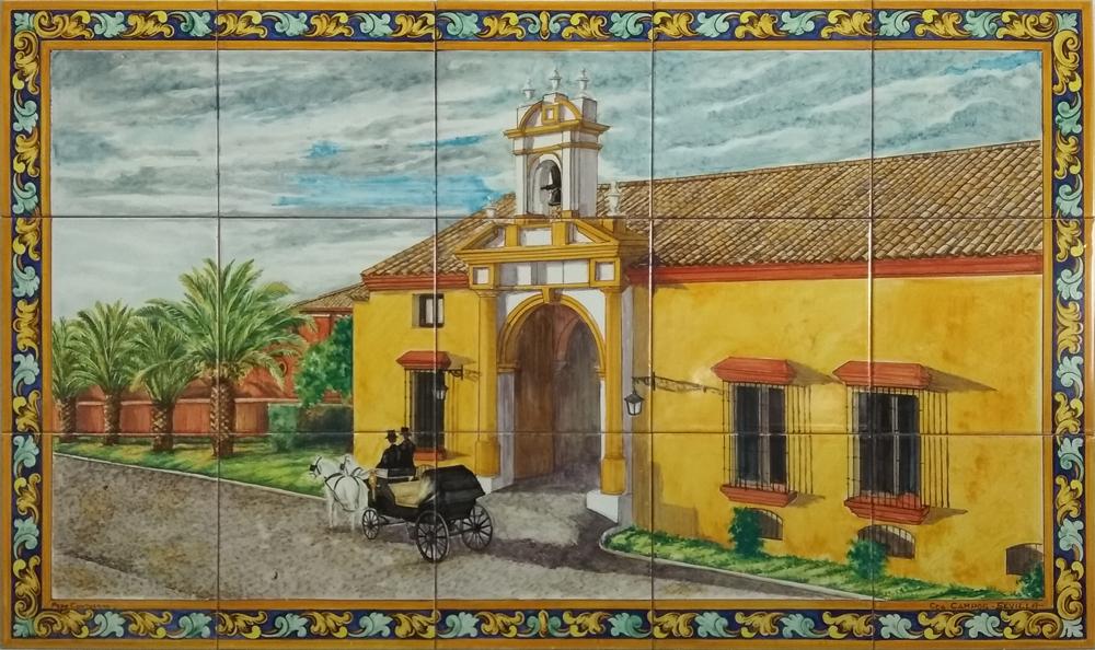 Mural Cortijo Andaluz